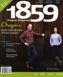 1859 Oregon's Magazine Winter 2011