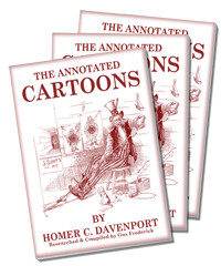 Annotated Cartoons by Davenport