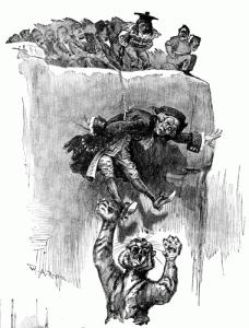 Father Knickerbocker's Peril