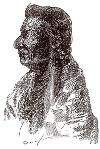 Chief Joseph, drawn from life by Davenport